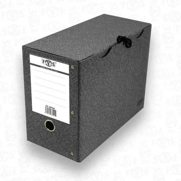 boite arch dos 20 cm Noir–01